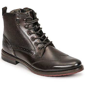 鞋子 男士 短筒靴 Bugatti LUSSORIO EVO 棕色