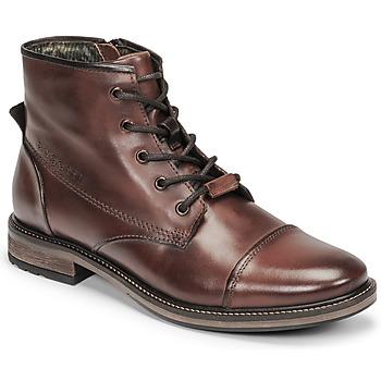 鞋子 男士 短筒靴 Bugatti MARCELLO I 棕色