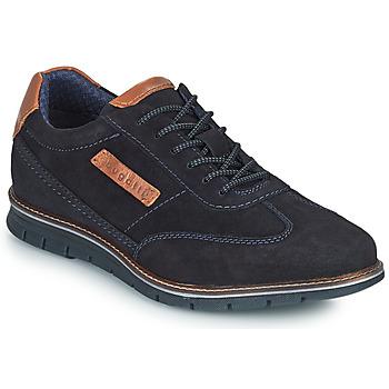鞋子 男士 德比 Bugatti SIMONE COMFORT 海蓝色