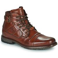 鞋子 男士 短筒靴 Bugatti SATURINO 棕色