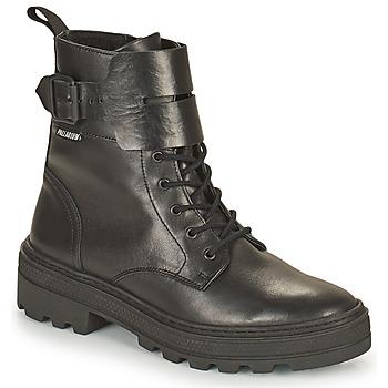 鞋子 女士 短筒靴 Palladium Manufacture CULT 03 NAP 黑色