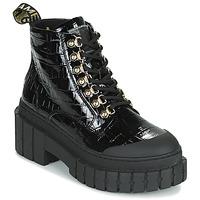 鞋子 女士 短筒靴 No Name KROSS LOW BOOTS 黑色