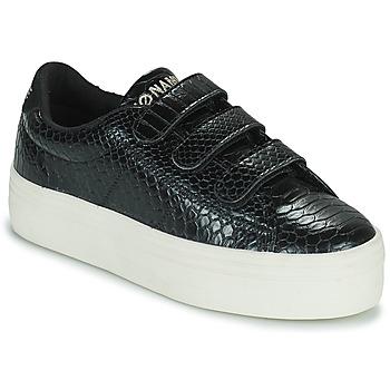 鞋子 女士 球鞋基本款 No Name PLATO M STRAPS 黑色