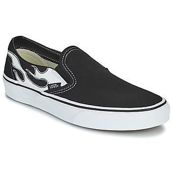 鞋子 平底鞋 Vans 范斯 CLASSIC SLIP ON 黑色