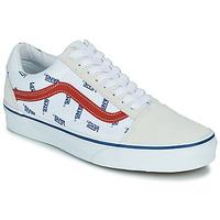 鞋子 球鞋基本款 Vans 范斯 OLD SKOOL 白色 / 蓝色