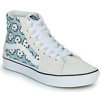 鞋子 高帮鞋 Vans 范斯 COMFYCUSH SK8-HI 蓝色 / 粉蓝色