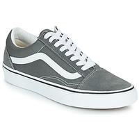 鞋子 球鞋基本款 Vans 范斯 OLD SKOOL 灰色