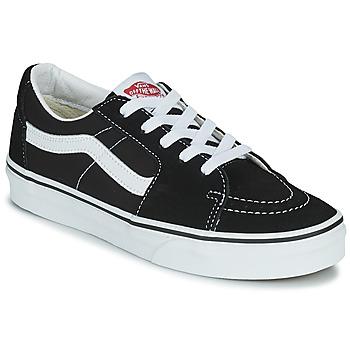 鞋子 球鞋基本款 Vans 范斯 SK8-LOW 黑色 / 白色