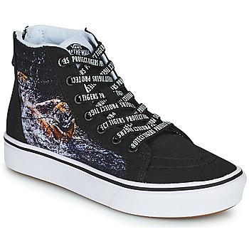 鞋子 男孩 高帮鞋 Vans 范斯 SK8-HI 黑色