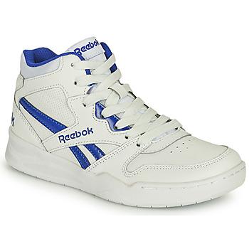 鞋子 儿童 高帮鞋 Reebok Classic BB4500 COURT 白色 / 蓝色