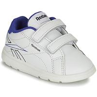 鞋子 男孩 球鞋基本款 Reebok Classic RBK ROYAL COMPLETE 白色 / 蓝色