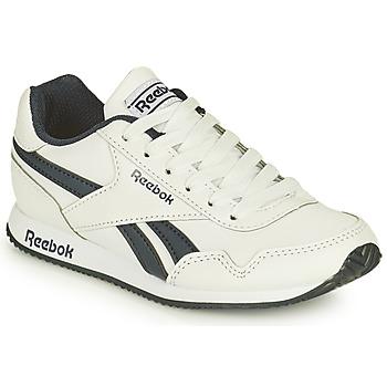 鞋子 男孩 球鞋基本款 Reebok Classic REEBOK ROYAL CLJOG 白色 / 黑色