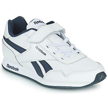 鞋子 男孩 球鞋基本款 Reebok Classic REEBOK ROYAL CLJOG 白色 / 海蓝色