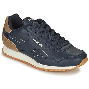 鞋子 儿童 球鞋基本款 Reebok Classic REEBOK ROYAL CLJOG 海蓝色 / 棕色