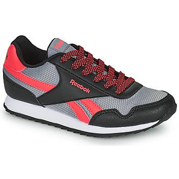 鞋子 儿童 球鞋基本款 Reebok Classic REEBOK ROYAL CLJOG 黑色 / 红色