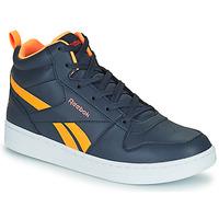 鞋子 儿童 高帮鞋 Reebok Classic REEBOK ROYAL PRIME 海蓝色 / 橙色