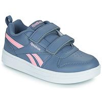 鞋子 女孩 球鞋基本款 Reebok Classic REEBOK ROYAL PRIME 海蓝色 / 玫瑰色