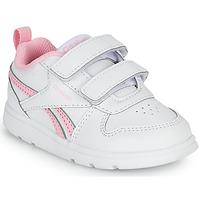 鞋子 女孩 球鞋基本款 Reebok Classic REEBOK ROYAL PRIME 白色 / 玫瑰色