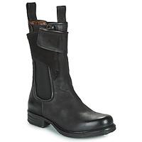 鞋子 女士 短筒靴 Airstep / A.S.98 SAINTEC CHELS 黑色