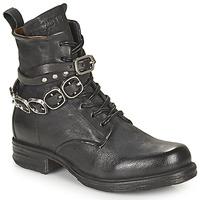 鞋子 女士 短筒靴 Airstep / A.S.98 SAINTEC BRIDE 黑色