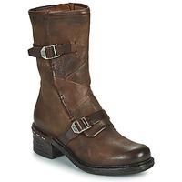 鞋子 女士 短靴 Airstep / A.S.98 NOVASUPER BUCKLE 棕色