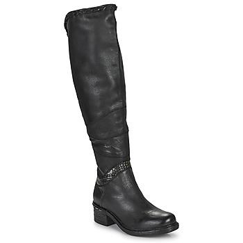 鞋子 女士 绑腿 Airstep / A.S.98 NOVASUPER HIGH 黑色