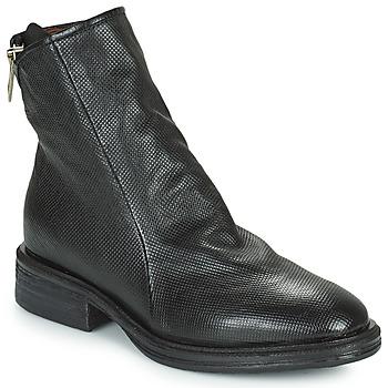 鞋子 女士 短筒靴 Airstep / A.S.98 FLOWER ZIP 黑色