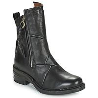 鞋子 女士 短筒靴 Airstep / A.S.98 MIRACLE ZIP 黑色