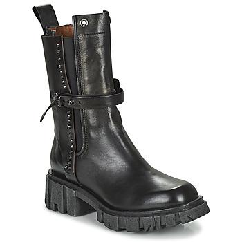 鞋子 女士 短筒靴 Airstep / A.S.98 HELL STUD 黑色