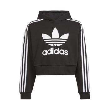 衣服 儿童 卫衣 Adidas Originals 阿迪达斯三叶草 THRENI 黑色