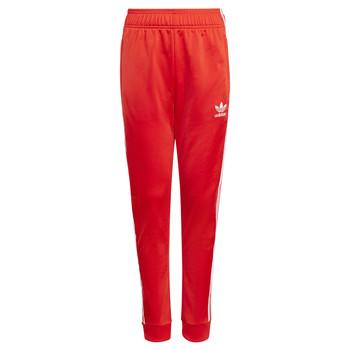 衣服 儿童 厚裤子 Adidas Originals 阿迪达斯三叶草 HANA 红色