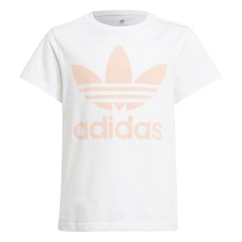 衣服 儿童 短袖体恤 Adidas Originals 阿迪达斯三叶草 VAGUO 白色