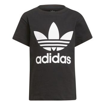 衣服 儿童 短袖体恤 Adidas Originals 阿迪达斯三叶草 CHANTIS 黑色
