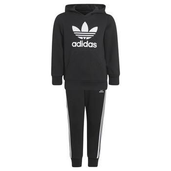 衣服 儿童 厚套装 Adidas Originals 阿迪达斯三叶草 SOURIT 黑色