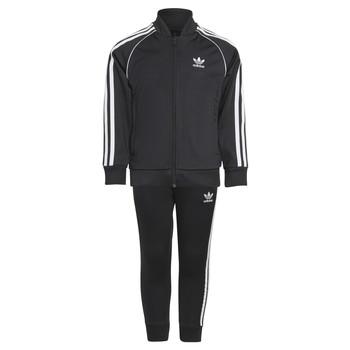 衣服 儿童 厚套装 Adidas Originals 阿迪达斯三叶草 RISUER 黑色