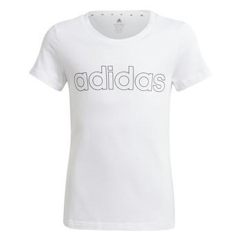衣服 女孩 短袖体恤 adidas Performance 阿迪达斯运动训练 HOLLIA 白色