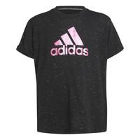 衣服 女孩 短袖体恤 adidas Performance 阿迪达斯运动训练 MONICA 黑色