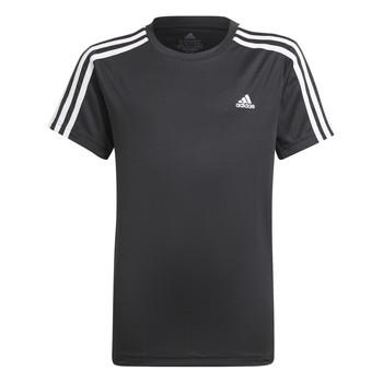 衣服 男孩 短袖体恤 adidas Performance 阿迪达斯运动训练 MARIONA 黑色