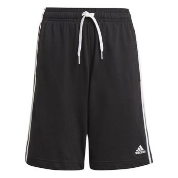 衣服 男孩 短裤&百慕大短裤 adidas Performance 阿迪达斯运动训练 CLAKIA 黑色