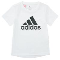 衣服 男孩 短袖体恤 adidas Performance 阿迪达斯运动训练 NADEGE 白色