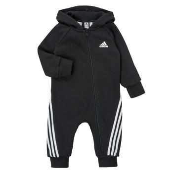 衣服 儿童 连体衣/连体裤 adidas Performance 阿迪达斯运动训练 TOMILA 黑色