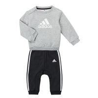衣服 男孩 女士套装 adidas Performance 阿迪达斯运动训练 SONIA 灰色 / 黑色