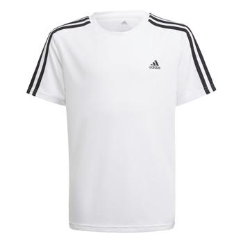 衣服 男孩 短袖体恤 adidas Performance 阿迪达斯运动训练 AYMERICA 白色
