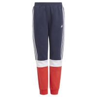 衣服 男孩 厚裤子 adidas Performance 阿迪达斯运动训练 ALMANA 海蓝色 / 红色