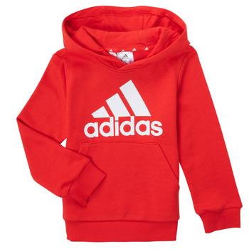 衣服 男孩 卫衣 adidas Performance 阿迪达斯运动训练 GENIZA 红色
