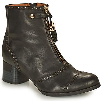 鞋子 女士 短靴 MAM'ZELLE MALO 黑色