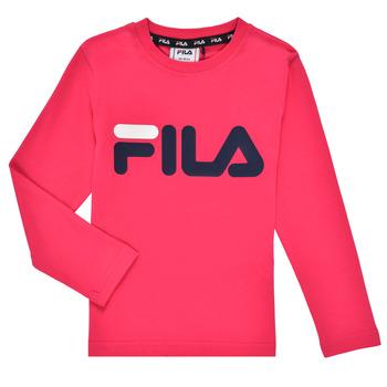 衣服 女孩 长袖T恤 Fila ESPIN 玫瑰色