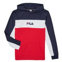 衣服 男孩 卫衣 Fila CAMILLA 红色 / 海蓝色