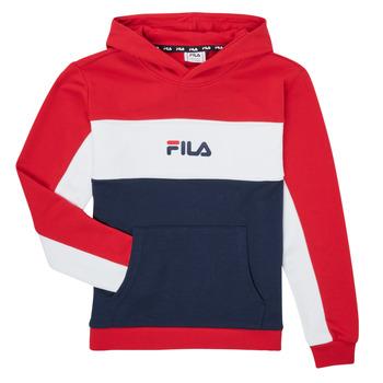 衣服 女孩 卫衣 Fila POLLY 红色 / 海蓝色