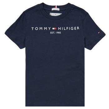 衣服 男孩 短袖体恤 Tommy Hilfiger SELINERA 海蓝色